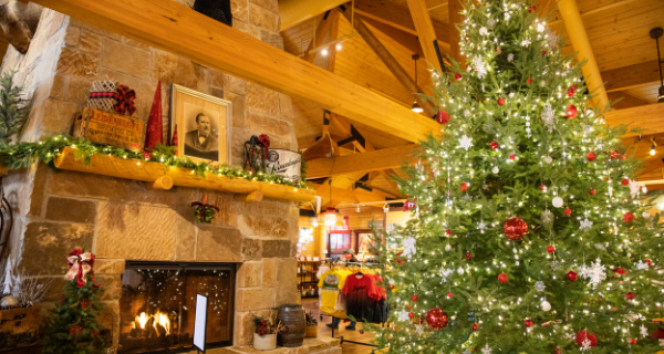 Christmas at the Leinie Lodge