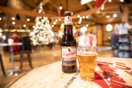 Beer at Leinie Lodge