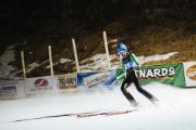 Skier at Silver Mine Invitational