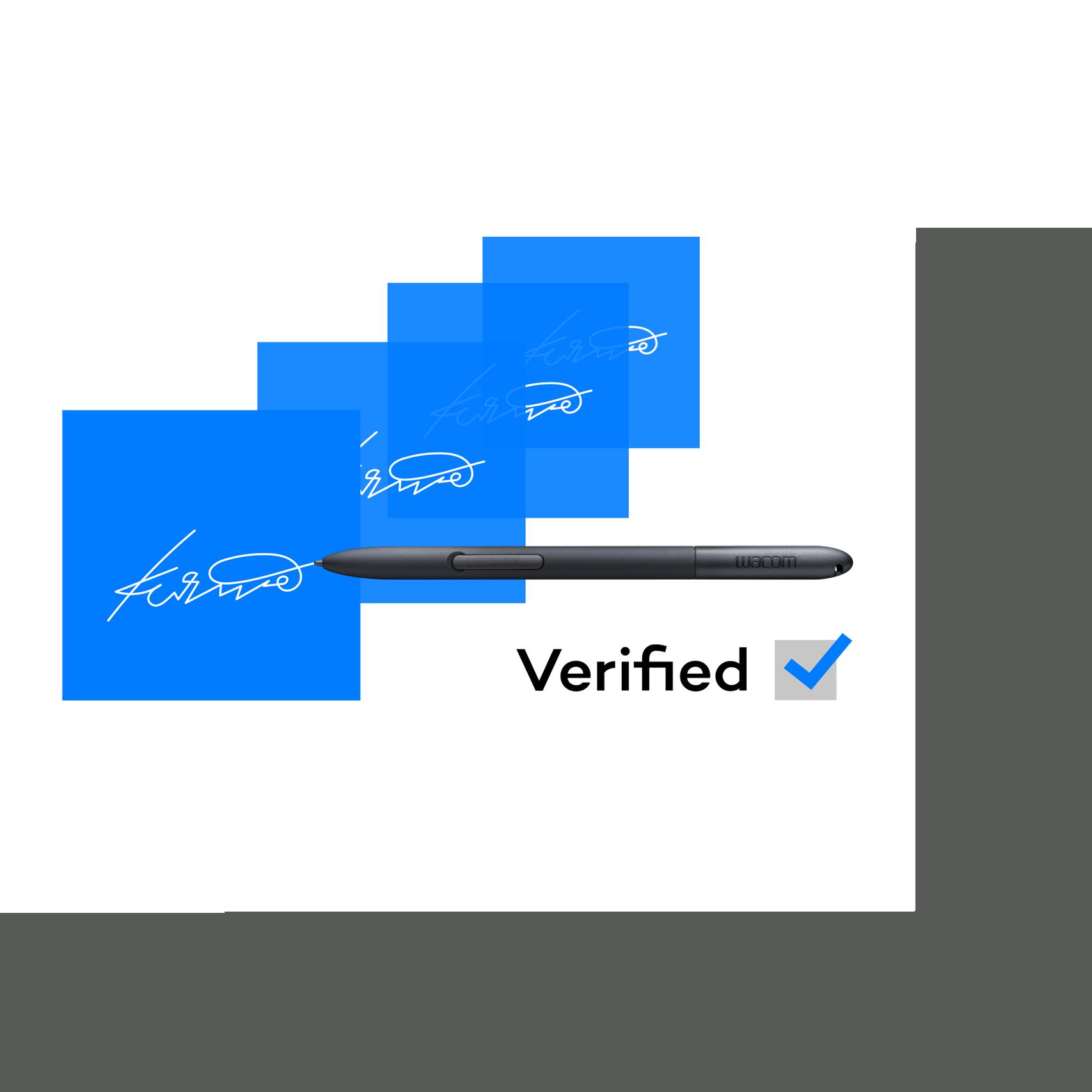 Wacom Ink SDK for verification